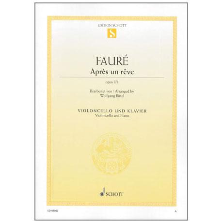Fauré, G.: Après un rêve Op.7/1