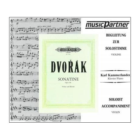 Dvořák, A.: Violinsonatine Op. 100 G-Dur Playalong-CD