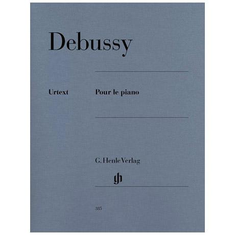 Debussy, C.: Pour le piano