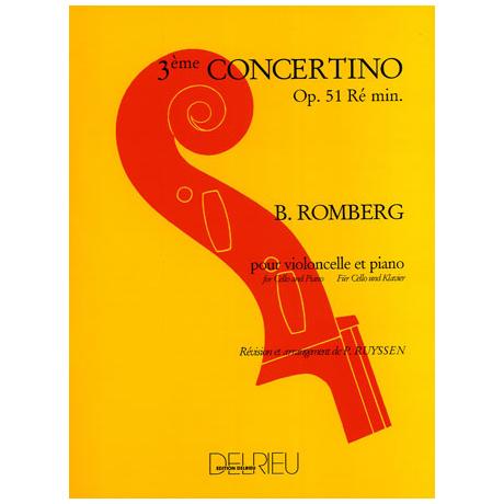 Romberg, B.: Concertino op.51 Nr. 3 d-moll