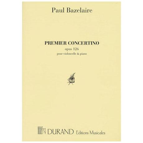 Bazelaire, P.: Concertini Nr.1 Op.126