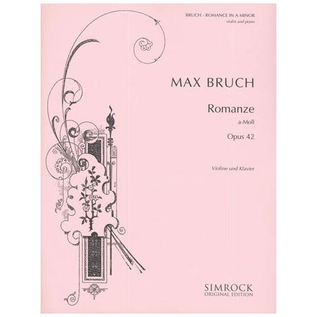 Bruch, M.: Romanze a-Moll Op.42