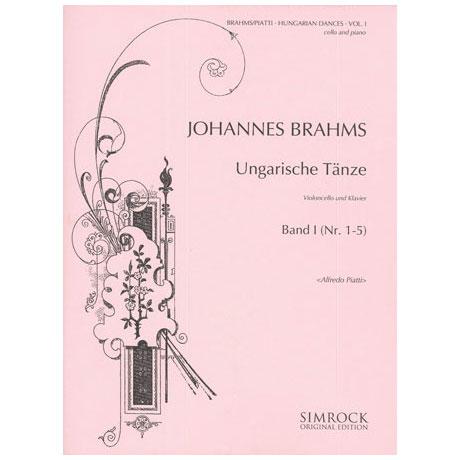 Brahms, J.: Ungarische Tänze Band 1 (Nr.1-5)