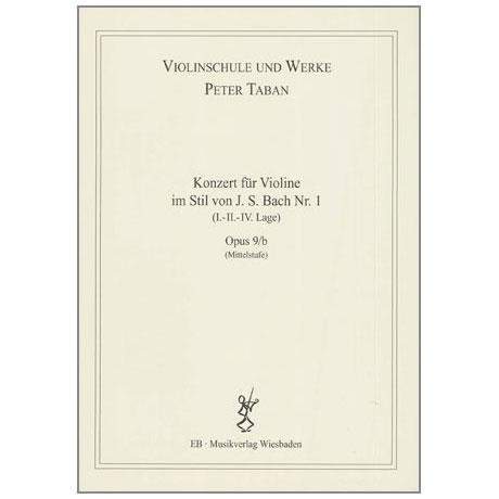 Taban, P.: Op. 9/b: Konzert im Stil von J.S. Bach Nr. 1