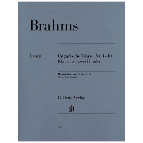 Brahms, J.: Ungarische Tänze 1 – 10