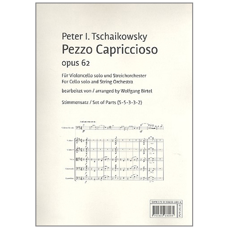 Tschaikowski, P. I.: Pezzo Capriccioso Op. 62