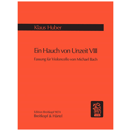 Huber, K.: Ein Hauch von Unzeit VIII