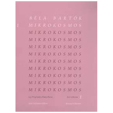 Bartók: Mikrokosmos Band 1