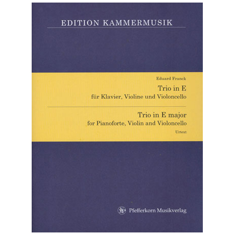 Franck, E.: Trio in E