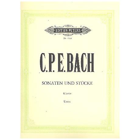 Bach, C.Ph.E.: Klaviersonaten und Stücke
