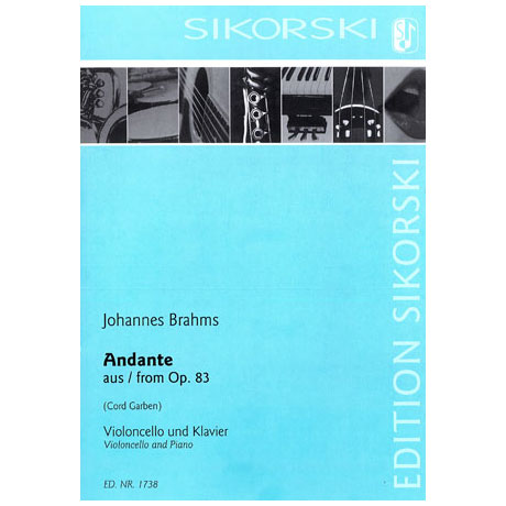 Brahms, J.: Andante Op. 83