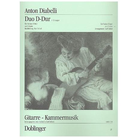 Diabelli, A.: Duo D-Dur