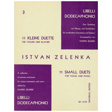 Zelenka, J.D.: 11 kleine Duette Nr.3