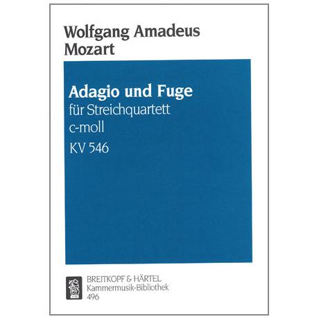 Mozart, W.A.: Adagio und Fuge c-moll, KV 546