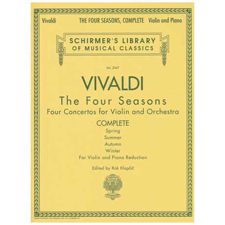 Vivaldi, A.: The Four Seasons – Die 4 Jahreszeiten Komplett
