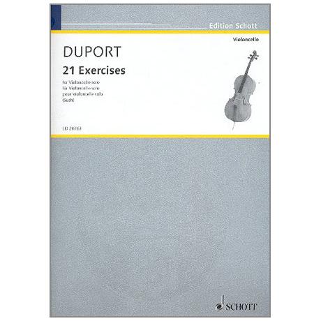 Duport, J.L.: 21 Exercises