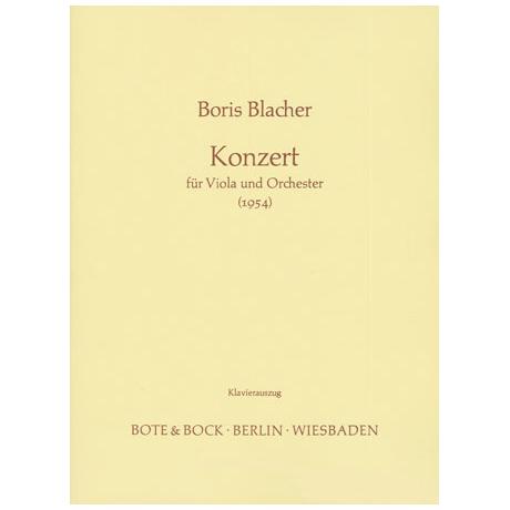Blacher, B.: Konzert