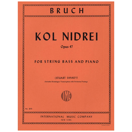 Bruch, M.: Kol Nidrei Op.47