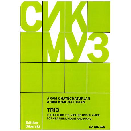 Chatschaturjan, A.: Trio 1932