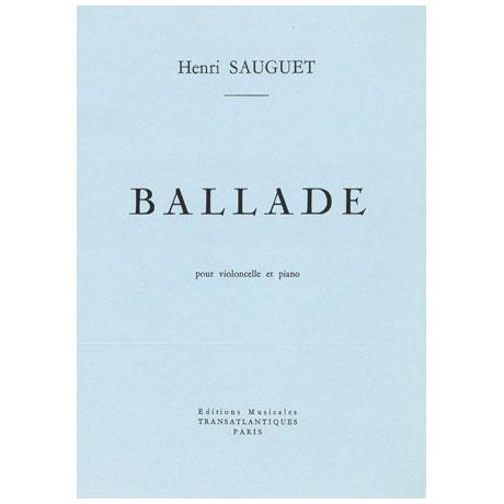 Sauguet: Ballade