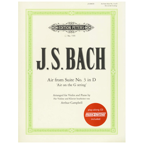 Bach, J. S.: Air on the G-String (+CD)