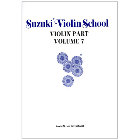 Suzuki Violin School Vol. 7