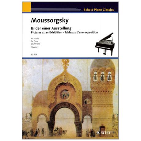Schott Piano Classics - Mussorgskij: Bilder einer Ausstellung