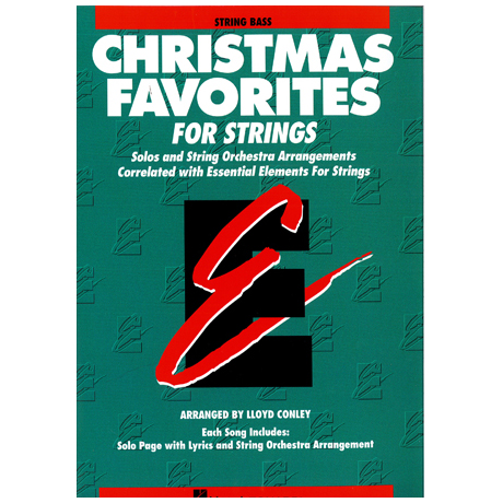 Christmas Favorites for Strings: Kontrabass