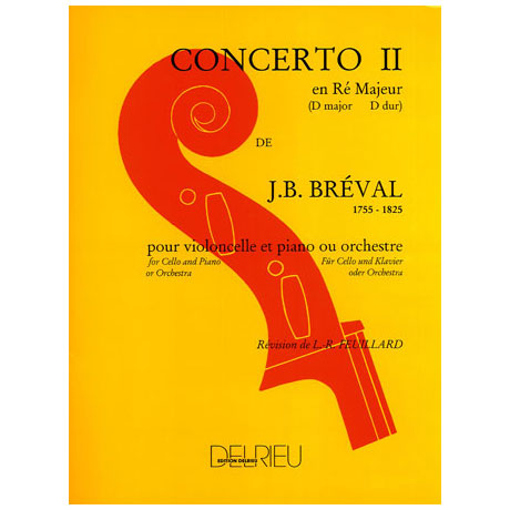 Bréval, J. B.: Concerto Nr. 2 D-Dur