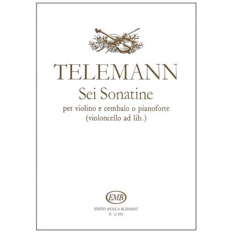 Telemann, G. Ph.: 6 Sonatinen