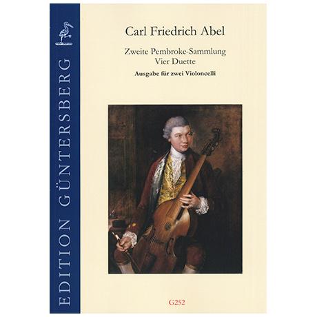 Abel, C.F.: 4 Duette