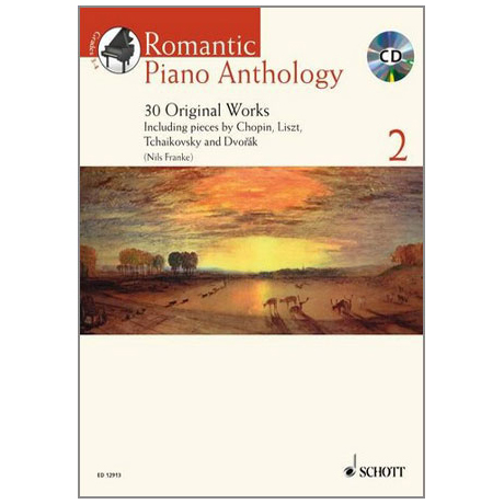 Romantic Piano Anthology - Band 2 (+CD)