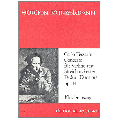 Tessarini, C.: Concerto Op. 1/4 D-Dur