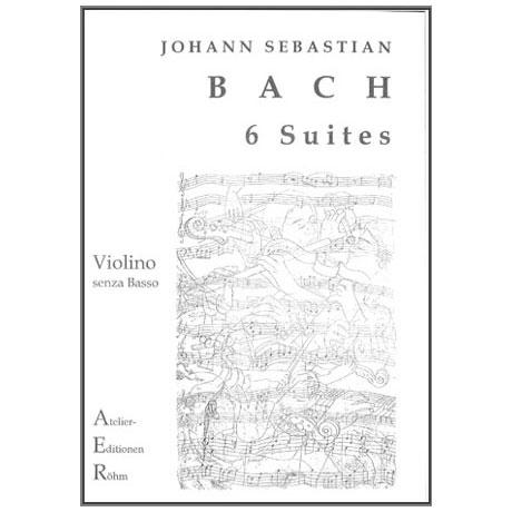 Bach, J.S.: 6 Cello-Suiten