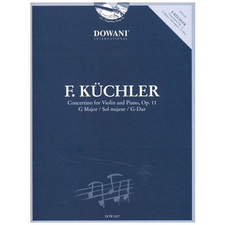 Küchler, F.: Concertino op. 11 in G-Dur (+CD)