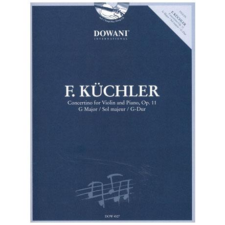 Küchler, F.: Concertino Op. 11 G-Dur (+CD)