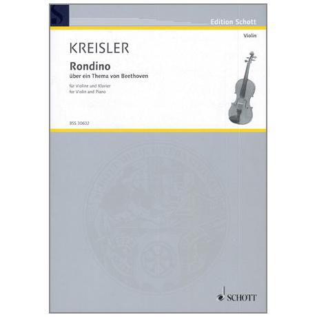Kreisler, F.: Rondino über ein Thema von Beethoven