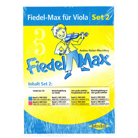 Holzer-Rhomberg; Fiedel-Max für Viola Set 2