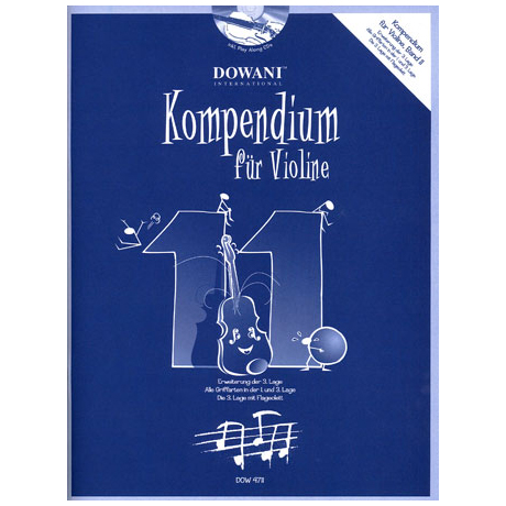 Kompendium für Violine - Band 11 (+ 2 CD's)