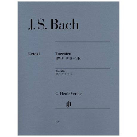 Bach, J.S.: Toccaten BWV 910-916