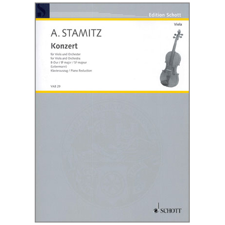 Stamitz, A.: Konzert B-Dur