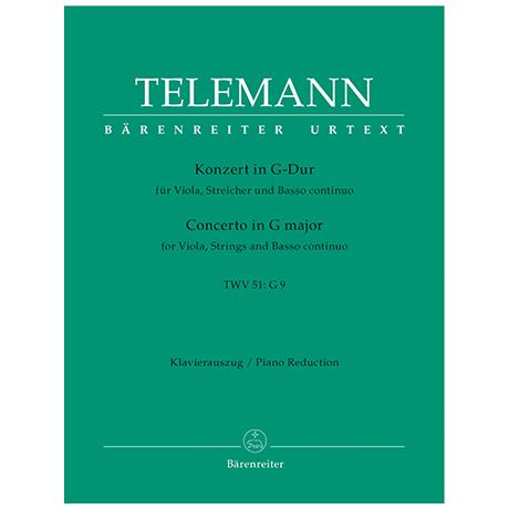 Telemann, G. F.: Violakonzert G-Dur