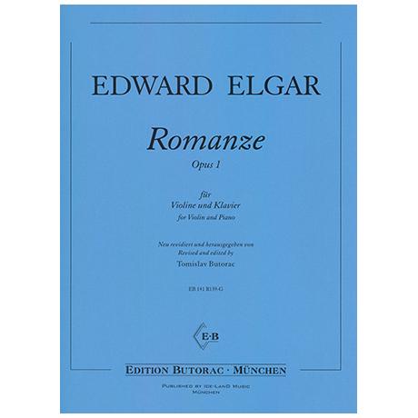 Elgar, E.: Romanze Op. 1