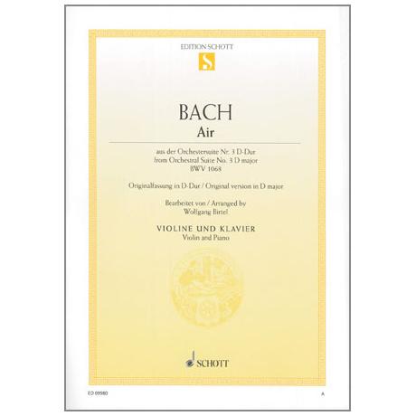 Bach, J. S.: Air BWV 1068 aus der Orchestersuite Nr. 3