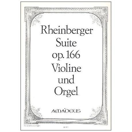 Rheinberger, J.: Suite c-moll op.166