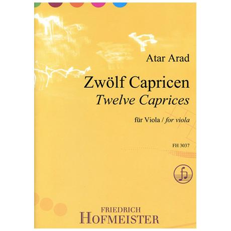 Arad, A.: Zwölf Capricen