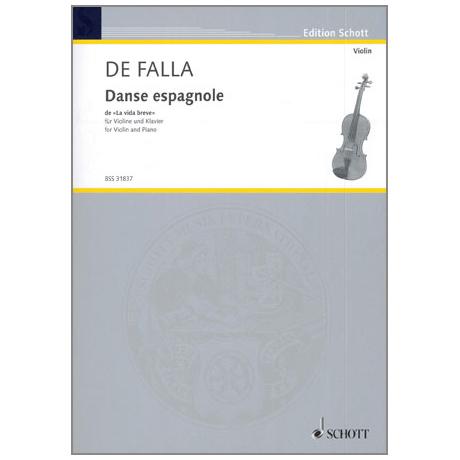 Falla, M.: Danse espagnole aus La vida breve
