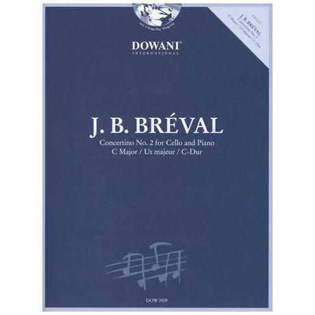 Bréval, J.B.: Concertino Nr.2 C-Dur (+CD)