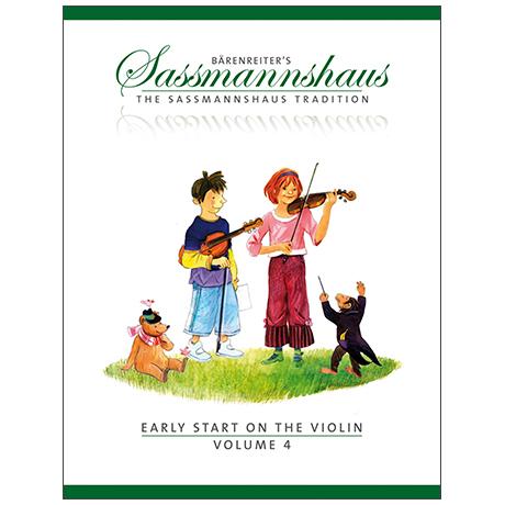 Sassmannshaus, E.: Early Start on the Violin Vol.4