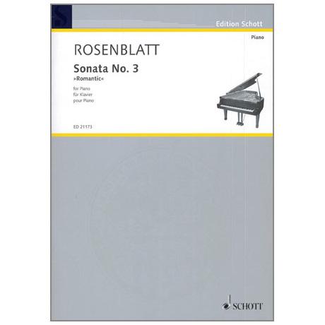 "Rosenblatt: Sonata Nr. 3 »Romantic"""